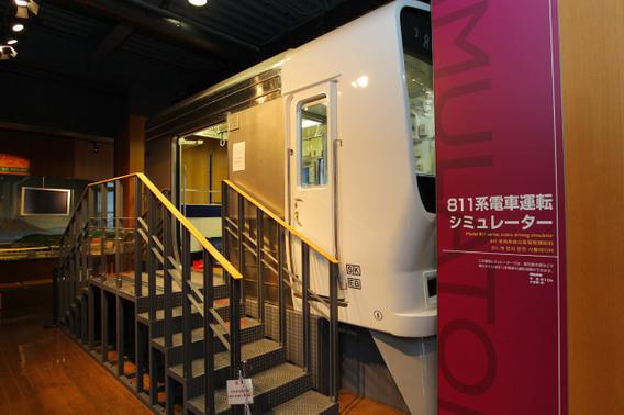 九州鉄道記念館のシミュレータ